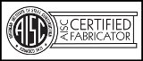 AISC Certified Fabricator Logo for A Lucas and Sons